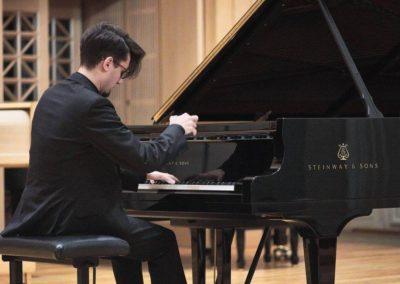 10. HAMU Praha- Pavel Zemen, klavírista
